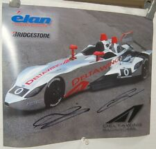Driver Signed ALMS 2013 12 Hours of Sebring Deltawing Hero Card