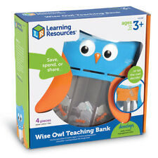 Wise Owl Teaching Bank Learning Toy - Learning Resources