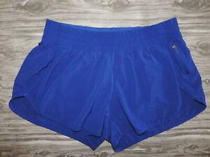 Lululemon Tracker Shorts BLUE women's size 12 Excellent