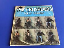 New listing The Crusaders 2nd Crusade 2x LP Gatefold cover BLUE THUMB BTS 7000 stereo TESTED