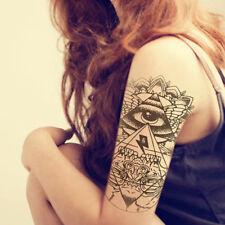 Wasserfest Einmal Tattoo Körper Tattoos Aufkleber Hauttattoo Schmuck Auge Totem