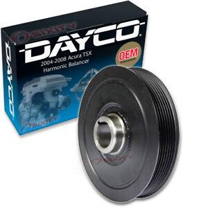 Dayco Engine Harmonic Balancer for 2004-2008 Acura TSX Cylinder Block  mi