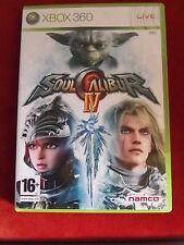 Xbox 360 jeu soul calibur IV + guide