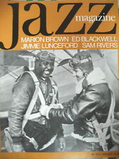 JAZZ MAGAZINE 213 MARION BROWN SAM RIVERS ED BLACKWELL JIMMIE LUNCEFORD 1973