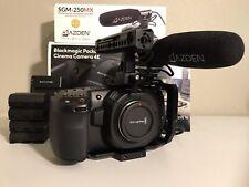 Blackmagic Design BMPCC Pocket Cinema Camera 4K w/ Resolve & Extras