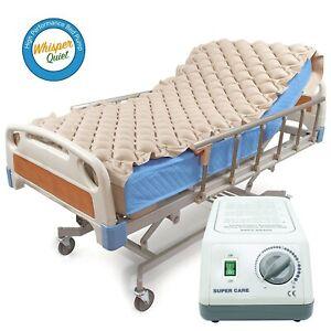 Bedsore Prevent Alternating  pressure mattress pad w pump Hospital Medical Bed