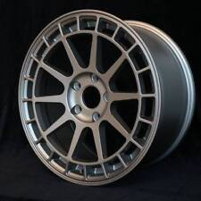 17X8 +44 ROTA RECCE 5X114.3 GRAY WHEELS Fits IS250 MAZDA 3 6 MIATA MX5 MR2 5X4.5