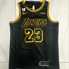 LeBron James #23 Lakers Edition Black Jersey Full Size