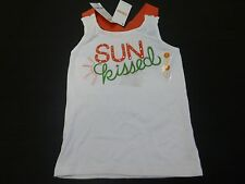 Gymboree Size 7 Sun Kissed Embellished Tank Top Shirt New