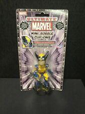 WOLVERINE Ultimate Marvel Mini Bobvble CLIP-ON Sealed Comic Images