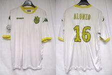 Maillot F.C NANTES ALONZO #16 Ligue 1 Kappa shirt blanc porté ? sans sponsor XXL
