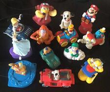 13 Collectable Vintage Fast Food Plastic Toys McDonalds Burger King