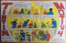 Rare ! TINTIN Puzzle suédois 1973 n°4/6 Excellent état