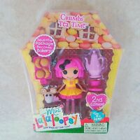 Crumbs Tea Time Mini Lalaloopsy Doll New #2 Series 5 Retired MGA Toy Pet Mouse