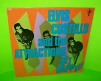 ELVIS COSTELLO And The Attractions Get Happy Vinyl LP Record New Wave Pop SEALED
