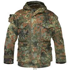 Militaire Patrol Smock Gevecht Parka Herenen Long Jacket Bw Flecktarn Camo S-3Xl