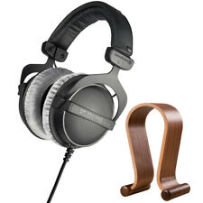 BeyerDynamic DT 770 PRO 250 Ohms Studio Headphones + Wood Headphone Stand