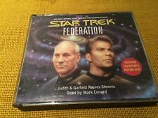 Star Trek Federation by J and G Reeves-Stevens -  CD Audiobook - (3 x CDs)
