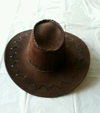 Brown Wild Western Cowboy Hat Cowgirl Hat Fancy Dress Costume Outfit Accessory