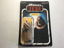 65 Bk Star Wars Rotj Bib Fortunate Palitoy Carded Moc Toy Figure
