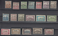 Italy Fiume Hungarian stamps 1918 MH,USED