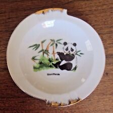 "Bao Bao Panda Ashtray 6"" Diameter"