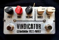 "JDM Pedals ""Vindicator"" Tonebender & Rangemaster Dual pedal Boost / Fuzz"