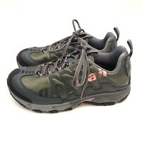 Montrail AT Plus Hiking Shoes Womens US 7M Green Pink Lace Up Athletic Brand New