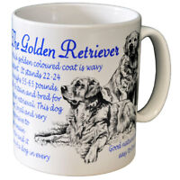 Golden Retriever - Ceramic Coffee Mug - Dog Origins Breed
