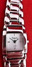 MATADOR LADIES QUARZ WATCH, STAINLESS STEEL BAND-snap/close clasp