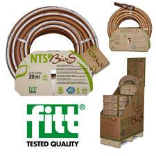 "fitt® BioS 1/2"" 20m 12,5mm Gartenschlauch Schlauch Umweltfreundlich NTS m/o Kit"