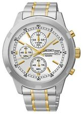 SCNP SKS423P1 Seiko Gents Chronograph Stainless Steel Bracelet Watch