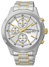 SCNP SKS423P1 Seiko Gents Cronografo Bracciale in acciaio inossidabile orologio