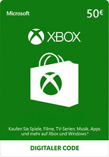 50 Euro Microsoft Xbox Live Gift Card MS Xbox 360 & One 50 € Guthaben Karte [EU]