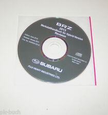 Werkstatthandbuch auf CD Subaru BRZ - Modell ZC 6 - Modelljahr 2013!