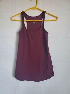 LULULEMON Tank Top  Yoga Athletic Shirt Small Burgandy