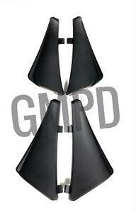 20-21 Corvette C8 Front & Rear Splash Guards in Black GM OEM 84263457 84263453
