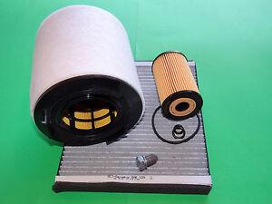 Ölfilter Luftfilter Pollenfilter Skoda Roomster (5J) 1.6 TDI (66 & 77kW)