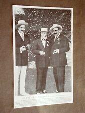 Londra 12 settembre 1906 Caruso, Scotti e Tosti