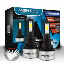 NIGHTEYE 2x 72W 9000LM H7 LED Auto Scheinwerfer Birnen Leuchte Lampen 6500K Kit