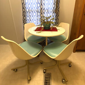 Mid Century Tulip Table And Chairs
