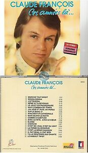 CLAUDE FRANCOIS ces années la CD ALBUM music point 5634 eloïse donna j'attendrai