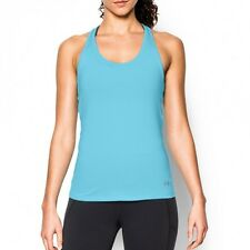 NWT Under Armour Women's UA CoolSwitch Tank Top, Sky Blue 1271768-914, XL
