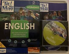Tell Me More -English Intermediate Complete English Language Learning Software