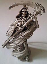 Rubber Keychain Keyring Skeleton Grim Reaper Skull Harley Goth