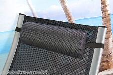 Gartenmöbel Kopfpolster Kopfkissen Bezug waschbar Kissen für Liegen Relax Sessel