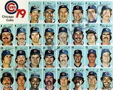 1979 CHICAGO CUBS BASEBALL TEAM 8X10 PHOTO PICTURE
