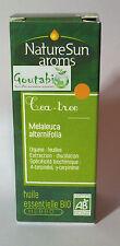 NatureSun Aroms - Huile Essentielle Tea Tree Bio - 10 ml