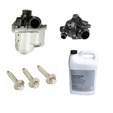 BMW E60 E82 E88 E92 335i 535i Water Pump Kit, Thermostat Antifreeze OE