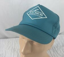 Vtg Solomon Corporation Snapback Hat Cap High Voltage Transformers Kansas